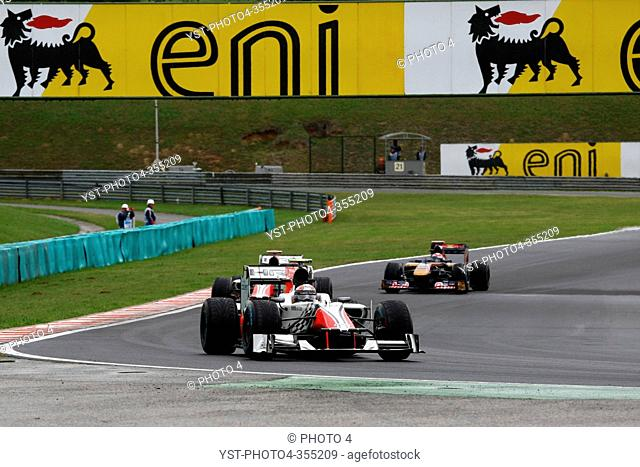 Vitantonio Liuzzi ITA, Hispania Racing F1 Team, HRT