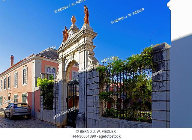 historical gate, Faro Portugal