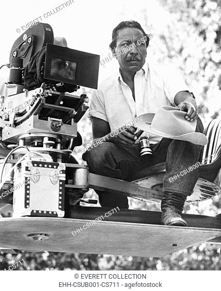 Gordon Parks, Jr., filming his autobiographical novel, THE LEARNING TREE, in 1969. Parks also wrote the screenplay and composed the musical score for the film