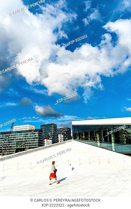 National Oslo Opera House, Oslo, Norway, Europe