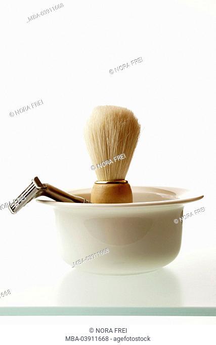 Shaving-articles, peel, shaving brush, wet-shavers, series, cosmetics-articles, brushing, shavers, shave, wet-shave, face-care, cosmetics, body-care, skin-care