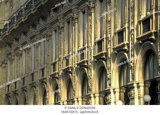 vittorio emanuele ii gallery, milan, italy