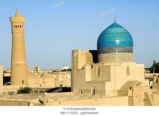 Kalyan Mosque and minaret, Bukhara, UNESCO World Heritage Site, Uzbekistan
