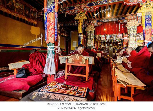 Nunnery, Tibet