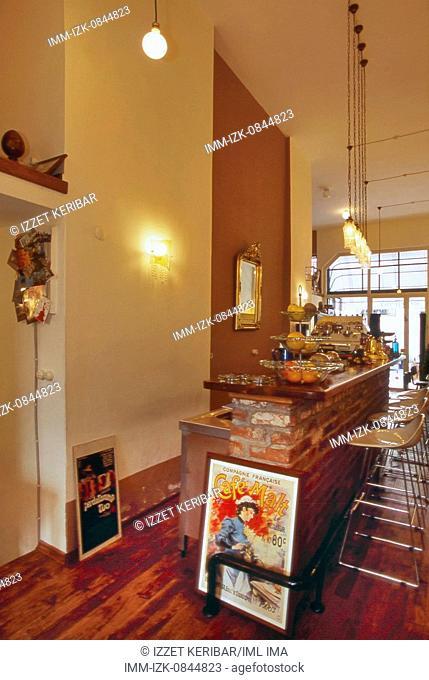 Smyrna Coffee Shop in Istanbul. Istanbul, Turkey, Western Asia