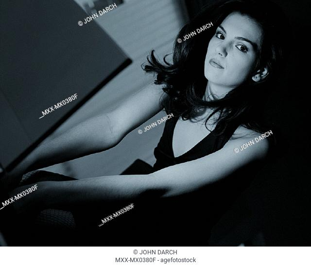 Businesswoman indoors