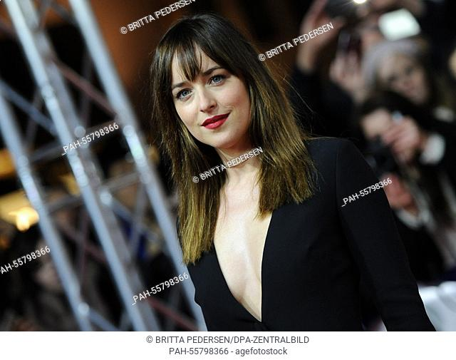 Fifty Shades Of Grey Film Premiere Stock Photos And Images Age