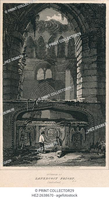'Interior of Lanercost Priory. Cumberland', 1814. Artist: John Greig