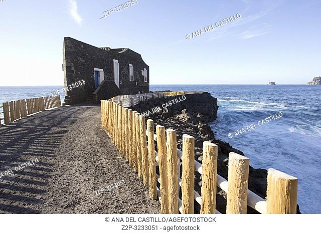 Punta Grande hotel in Frontera El Hierro Canary islands Spain It holds the world record for â. . smallest hotel in the worldâ. . on December 2018