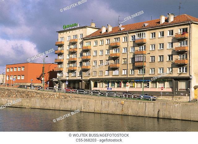 Danes river. Klaipeda. Lithuania