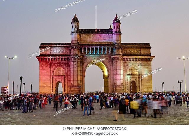 India, Maharashtra, Mumbai Bombay, Gateway of India