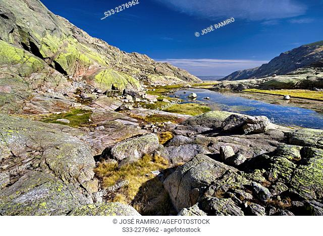 Big Lagoon of Gredos.Avila. Castilla Leon. Spain. Europe