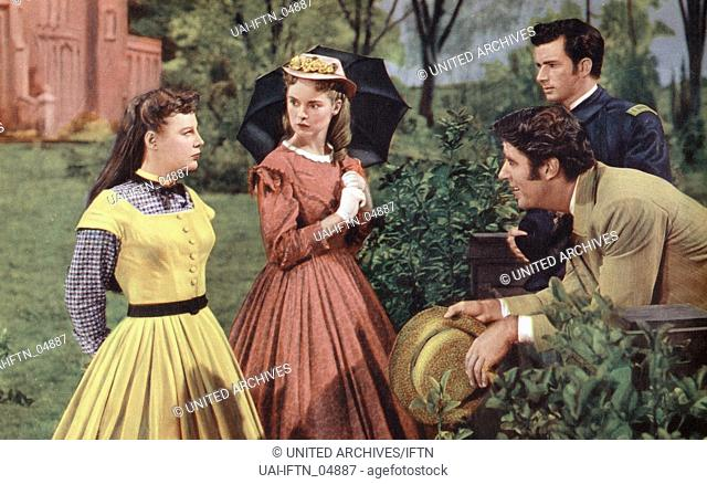 Little Women, aka Kleine tapfere Jo, USA, 1949, Regie: Mervyn LeRoy, Darsteller: June Allyson, Peter Lawford, Janet Leigh; Richard Stapley