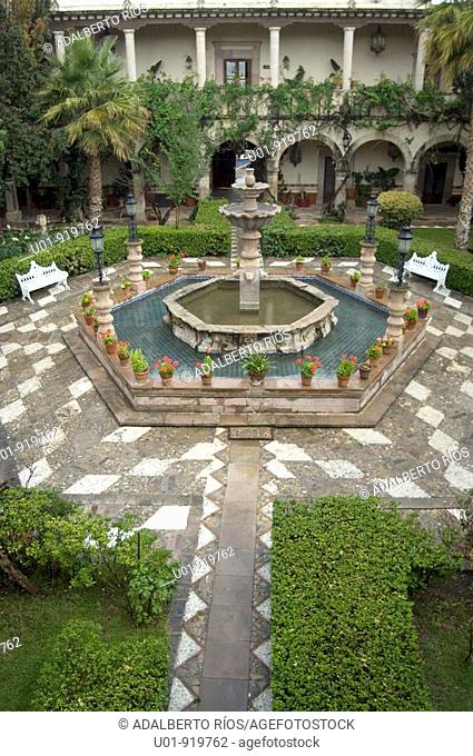 Hacienda. Súchil. Durango state. Mexico