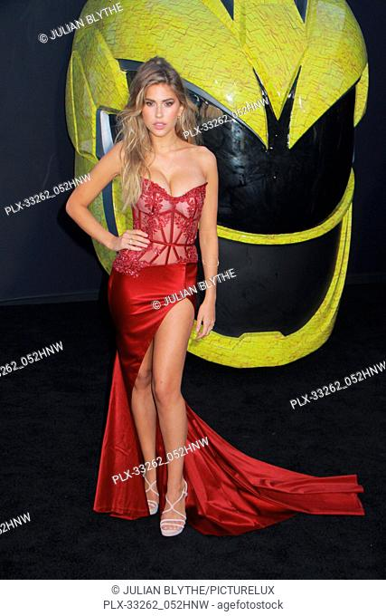 """Kara Del Toro 03/22/2017 """"""""Power Rangers"""""""" Premiere held at the Westwood Village Theater in Westwood, CA Photo by Julian Blythe / HNW / PictureLux"""