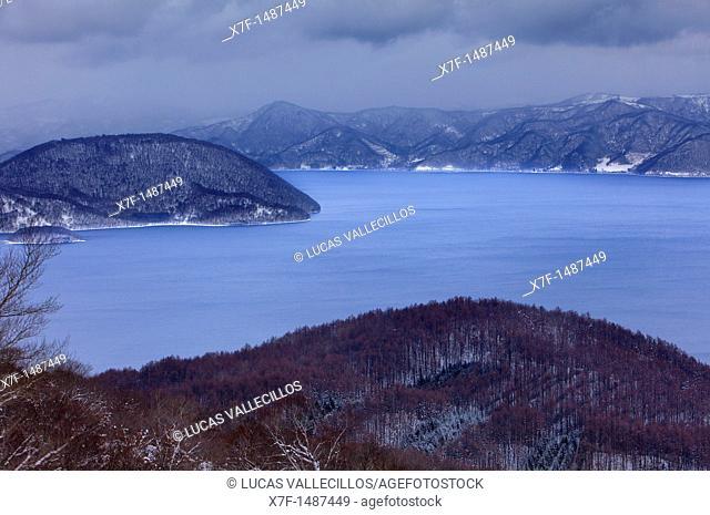 Lake Toya,Shikotsu-Toya National Park,Hokkaido,Japan