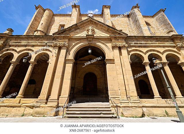 San Salvador Church, Usurbil, Guipuzcoa, Euskadi, Spain, Europe,