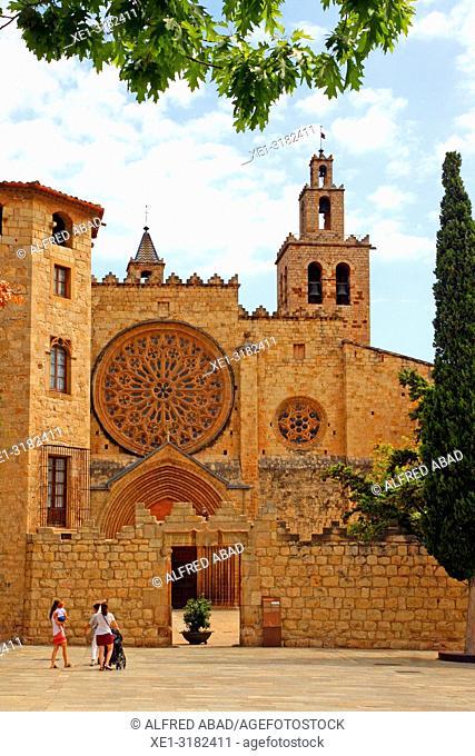 Monastery of Sant Cugat, Sant Cugat del Valles, Catalonia, Spain