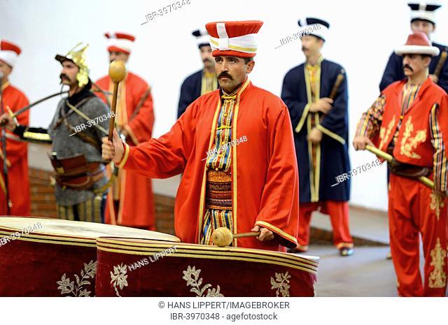Janissary military band, Askeri Müse, Istanbul Military Museum, Istanbul, Turkey