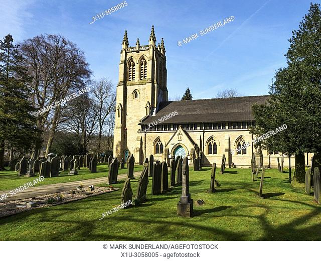 St Pauls Parish Church at Armitage Bridge near Huddersfield West Yorkshire England
