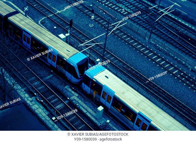 Railway, Stockholm, Sweden