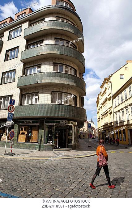 Architecture in Prague, Czech Republic, Europe