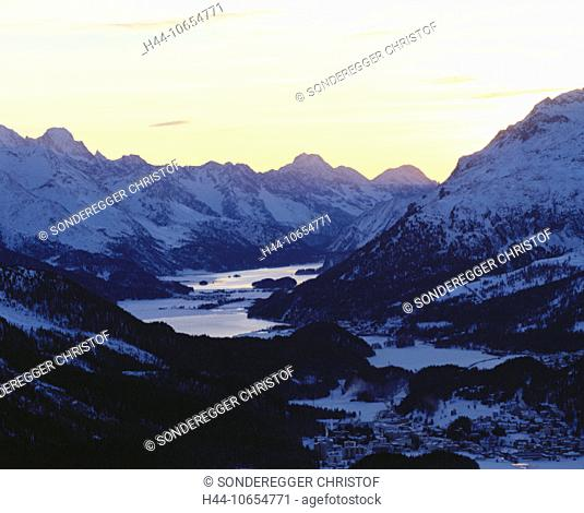 10654771, alpine, Alps, mountains, Celerina, Switzerland, Europe, Engadine, canton Graubünden, Grisons, Switzerland, Europe, s