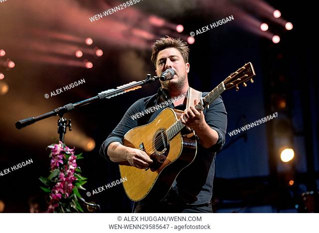 Mumford & Sons performing at the Life Is Beautiful Festival 2016 Featuring: Marcus Mumford, Mumford & Sons Where: Los Angeles, California