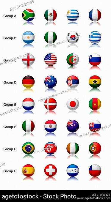 World cup 2010 - All teams