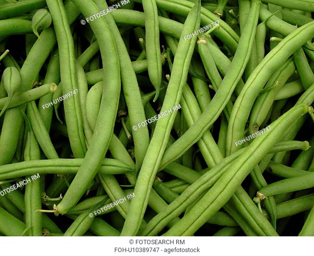 Montpelier, VT, Vermont, Farmer's Market, Green Beans