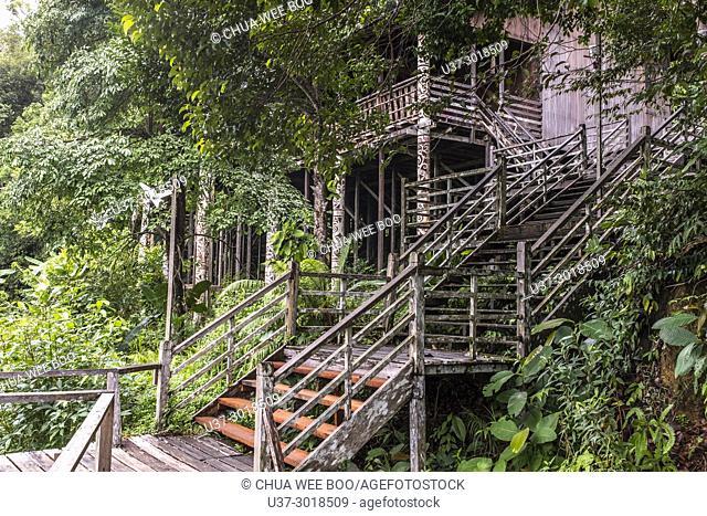 Sarawak Cultural Village also named as Sarawak Living Museum, Damai, Malaysia