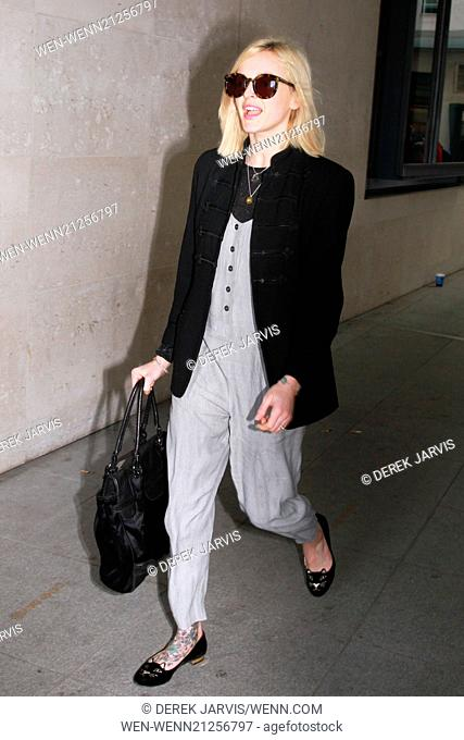 Fearne Cotton arriving at the BBC Radio 1 studios Featuring: Fearne Cotton Where: London, United Kingdom When: 09 Apr 2014 Credit: Derek Jarvis/WENN
