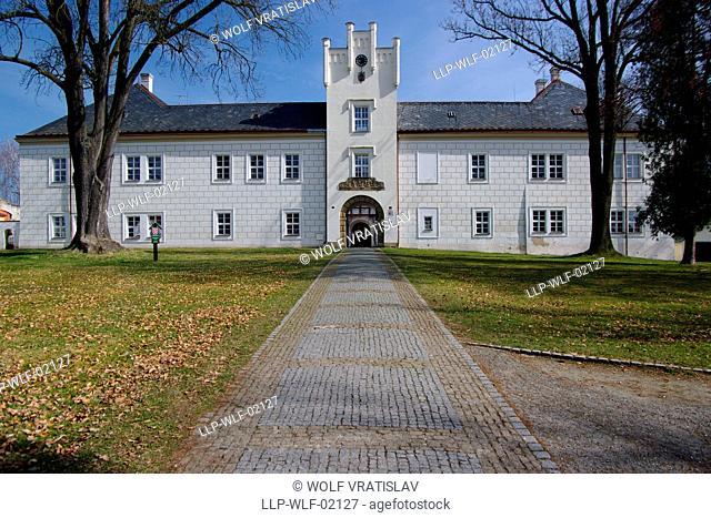 Spalene Porici Chateau, the Southwestern Bohemia, Plzen region, Czech Republic