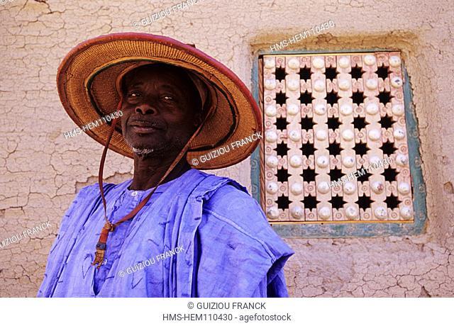 Mali, Mopti Province, in Djenne old town (UNESCO World Heritage)