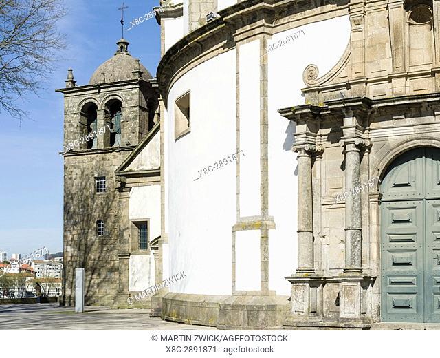 Mosteiro da Serra do Pilar in Vila Nova de Gaia on the opposite side of river Douro, where most port wine cellars are located