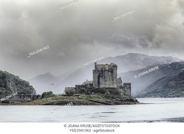 Eilean Donan Castle, Loch Duich, Western Highlands, Scotland, United Kingdom