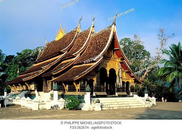 Wat Xieng Thong. Luang Prabang. Laos
