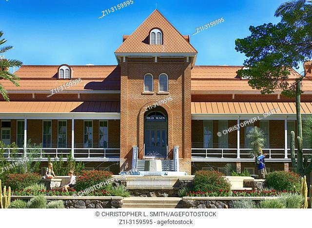 Old Main building of the University of Arizona, Tucson