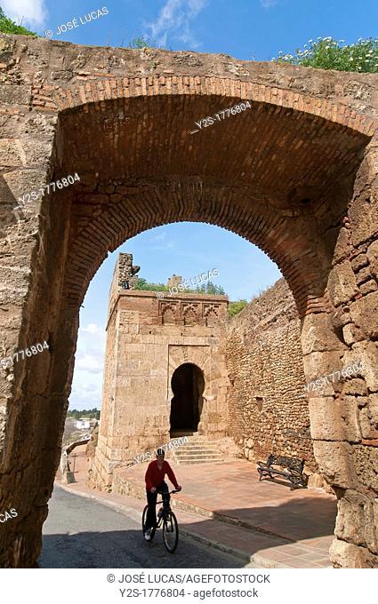 Walls and Door of the Ox, Niebla, Huelva-province, Spain