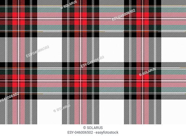 dress stewart tartan seamless pattern fabric texture .Vector illustration. EPS 10. No transparency. No gradients