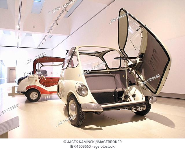 BMW Isetta, Mitomacchina exhibition, Museum of Modern Art, MART, Rovereto, Italy, Europe