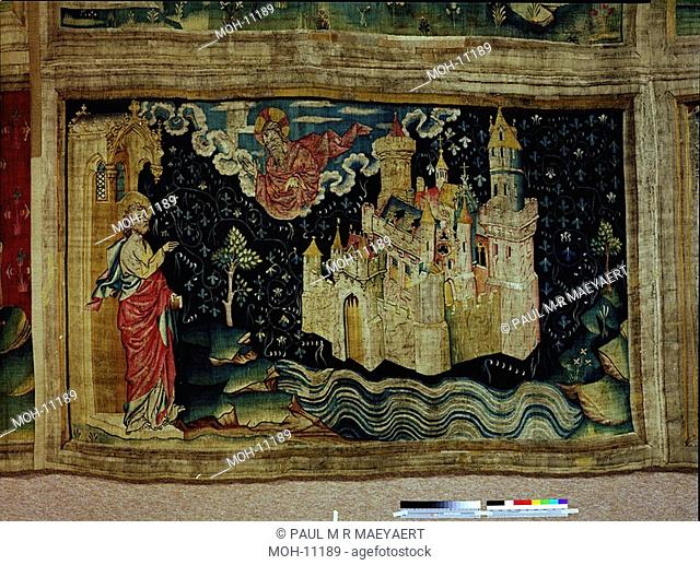 La Tenture de l'Apocalypse d'Angers, La Jérusalem nouvelle 1,50 x 2,49m, das neue Jerusalem
