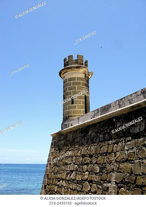 San Carlos de Borromeo castle Pampatar, Margarita island Venezuela