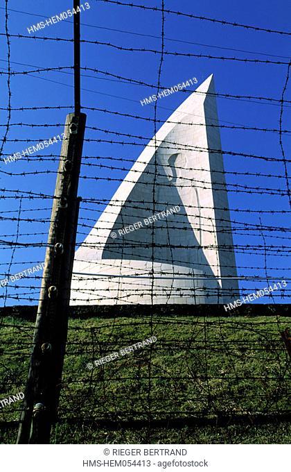France, Bas-Rhin (67), Struthof-Natzwiller concentration camp memorial of deportation
