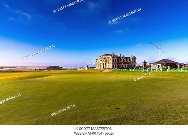 UK, Scotland, Fife, Royal and Ancient Golf Club of St Andrews