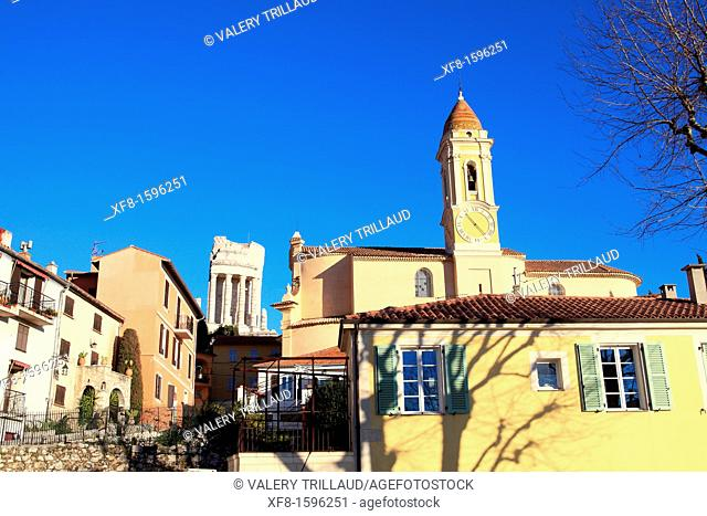 the village of La Turbie, Alpes-Maritimes, 06, French Riviera, France, Europe