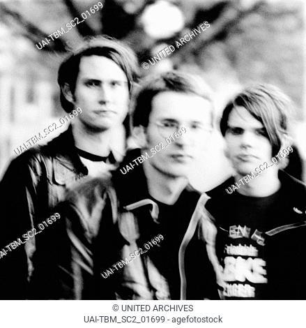 """Die deutsche Band """"""""Tocotronic"""""""" aus Hamburg, Deutschland 1990er Jahre. Hamburg based German band """"""""Tocotronic"""""""", Germany 1990s"""
