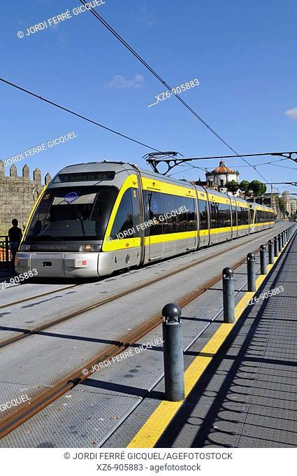 Metro, Porto, Portugal, Europe