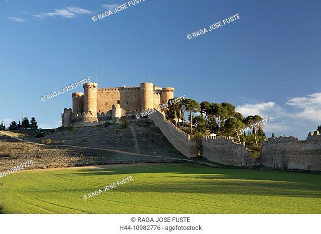 Belmonte Castle in in La Mancha