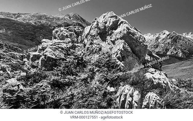 Sotres- Tresviso, Picos de Europa National Park, Asturias, Spain, Europe